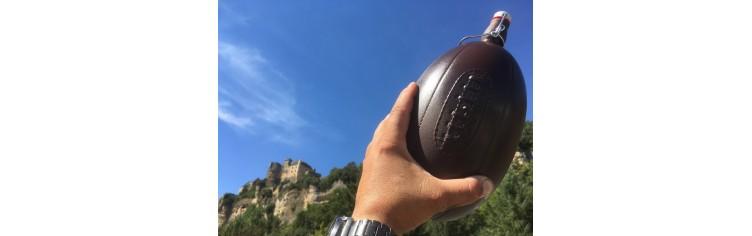 Bouteille ballon de Rugby